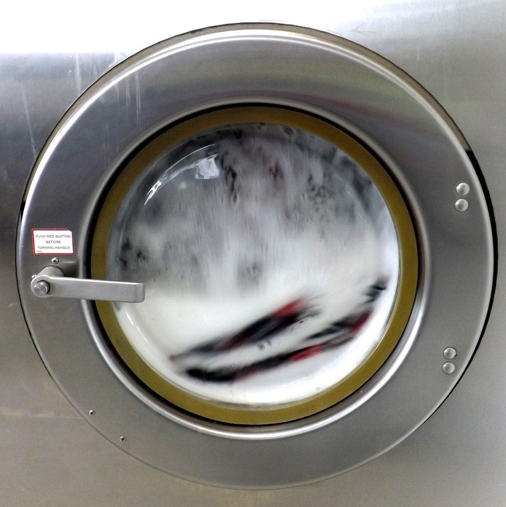 laundromat, washing machine, soap